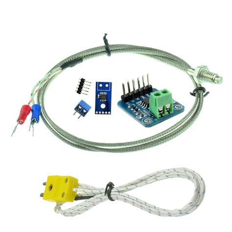Modul Max31855 Temperature Thermocouple K Type Sensor 200 1350c competitive new max31855 module k type thermocouple sensor for arduino ebay