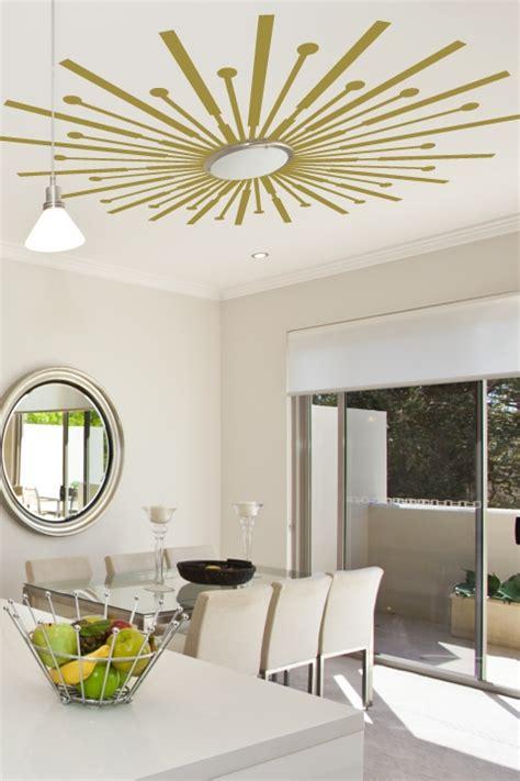 Ceiling Decals by Sunburst Ceiling Decals Diy Walltat Wall Decals