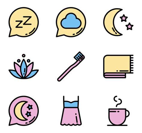 sleep color sleep icons 1 254 free vector icons