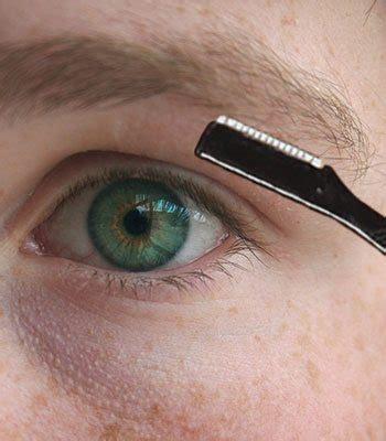 rough eyebrow hairs male eyebrow grooming tips