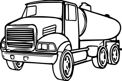 coloring page delivery truck delivery truck pages coloring pages