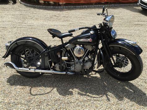 Knucklehead Harley Davidson by Original Paint 1947 Harley Davidson Knucklehead Bike