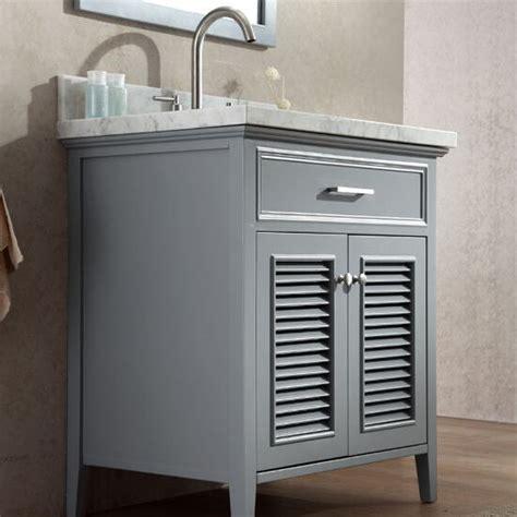 shutter door bathroom vanity kensington 31 bathroom vanity with shutter style doors