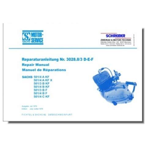 Sachs Motor 501 4 Ckf by Schreiber Zweiradshop De Reparaturanleitung Sachs 501 3