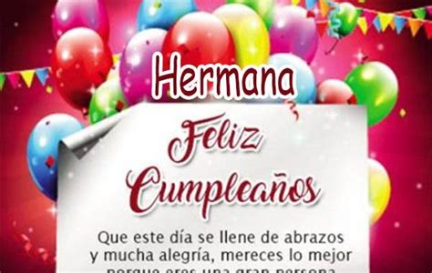 imagenes hermosas de feliz cumpleaños para una hermana bellas imagenes de feliz cumplea 241 os para una hermana
