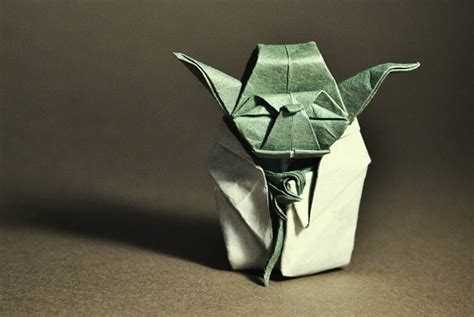 Wars Origami Yoda - wars origami episode ii clones droids yoda and more