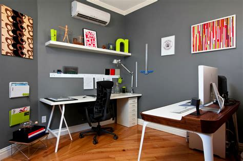 office wall ideas color schemes for home office