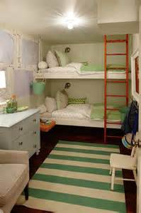 bunk rooms floating bunk beds contemporary girl s room sarah
