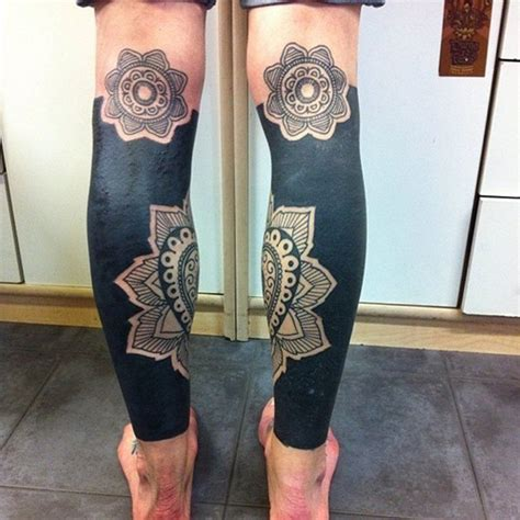 mandala leg tattoo 41 stylish mandala tattoos on leg