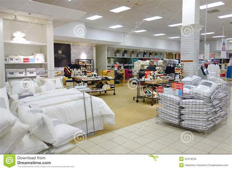 comforter store bedding area editorial image image 52419220