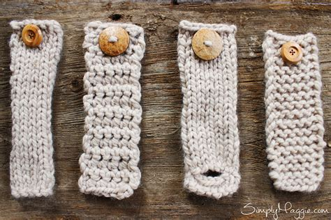 how do you knit a buttonhole diy button cuff for infinity scarf simplymaggie