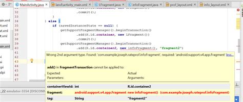 android studio r layout activity main error android studio error with dynamically allocating fragment