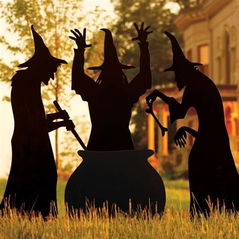 three witches decor martha stewart living three witches silhouette