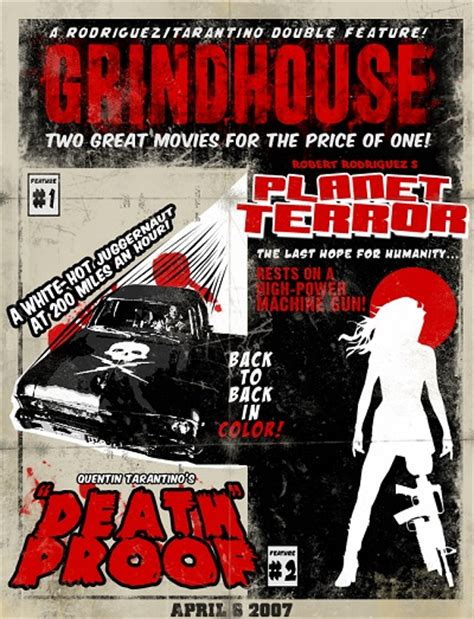 grindhouse poster template spooky scary cinema feature grindhouse