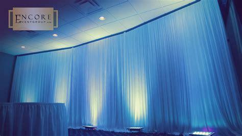 pipe and drape lighting michigan drapery pipe drape fabric backdrop for