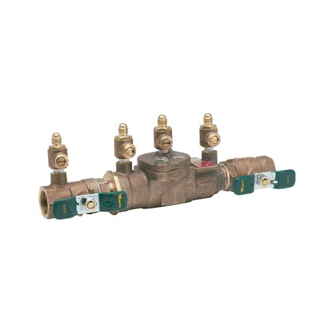 shop watts bronze female dual check valve at lowes com