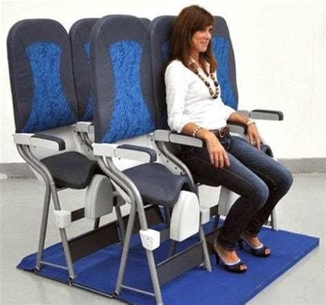 most comfortable airline seats economy skyrider saddle plane seats launched at aircraft