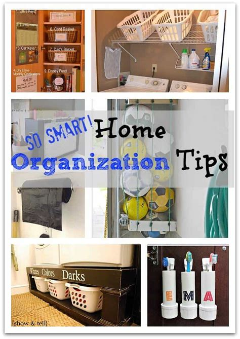 organizing home ideas home organization tips so smart page 2 of 2