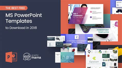 The Best Free Powerpoint Templates To Download In 2018 Graphicmama Free Powerpoint Templates 2018