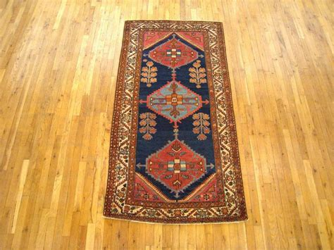 small runner rug antique hamadan rug in small runner size with minimal design for sale at 1stdibs