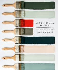 Joanna gaines paint collection paint brushes with colors image png