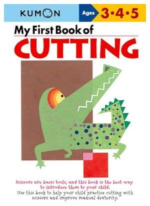 libro a first book of my first book of cutting kumon publishing 9784774307084