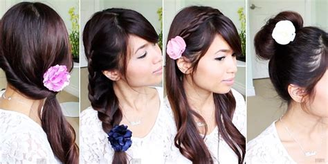 tutorial hias rambut panjang pin rambut pendek korea cake on pinterest