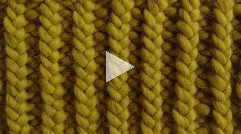 rib knit how to knit 1x1 rib stitch watg