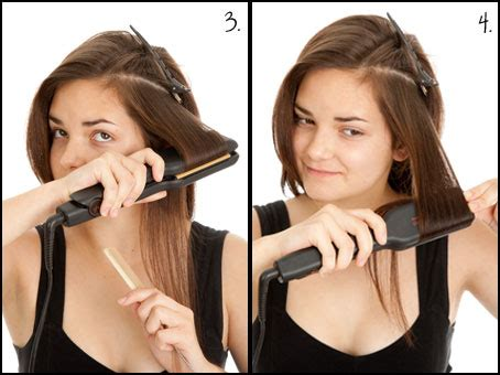 hairstyle ideas with a straightener curl your hair with a straightener or flat iron