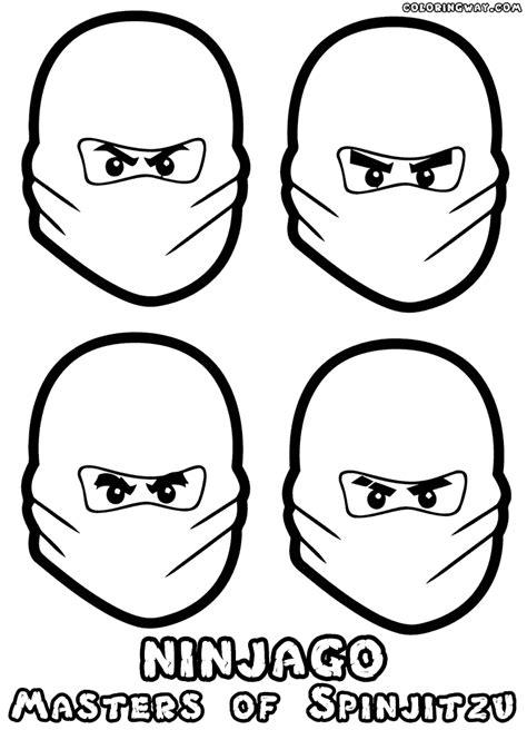 ninjago face coloring pages lego ninjago coloring pages coloring pages to download