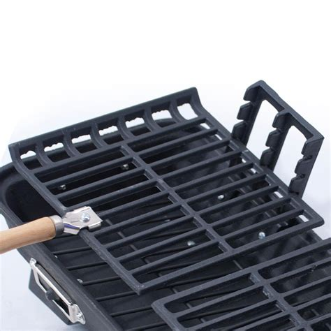 Backyard Grill Large Adjustable Cast Iron Grate Cook Grid