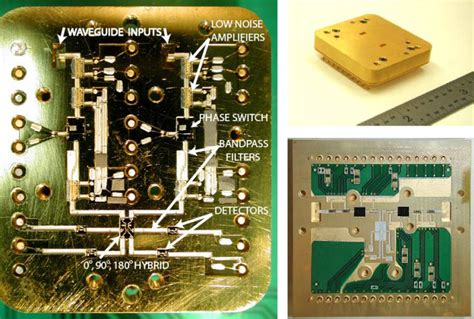 monolithic microwave integrated circuit power lifiers instrumentation