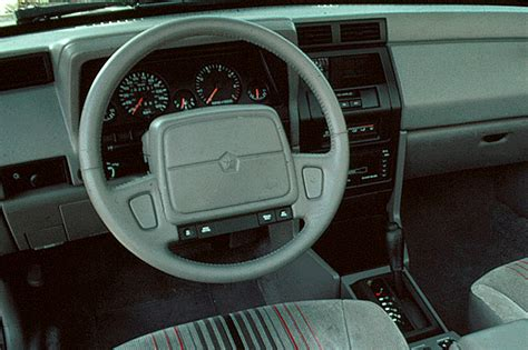 how cars run 1993 dodge shadow interior lighting 1990 94 dodge shadow consumer guide auto
