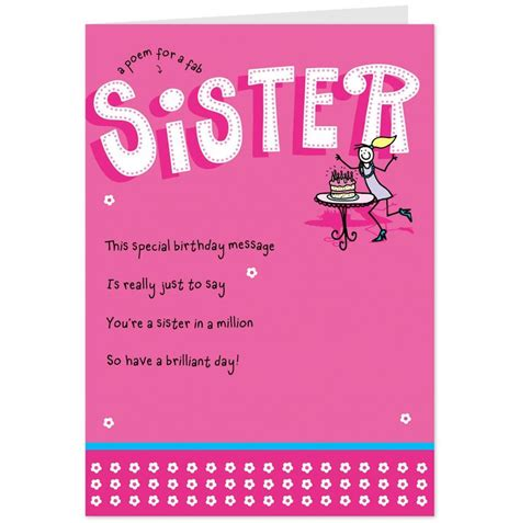 printable birthday cards for little brother birthday cards for sister free printables pinterest
