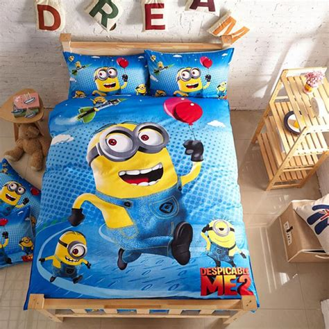 Despicable Me Bed Set 12 Minion Bedding Sets You Can Buy Right Now Home Design And Interior