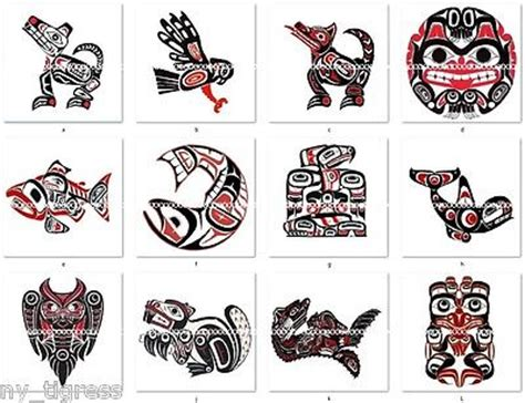 haida tattoo animal meanings coastal indian salish tlingit haida art book 1 haida art