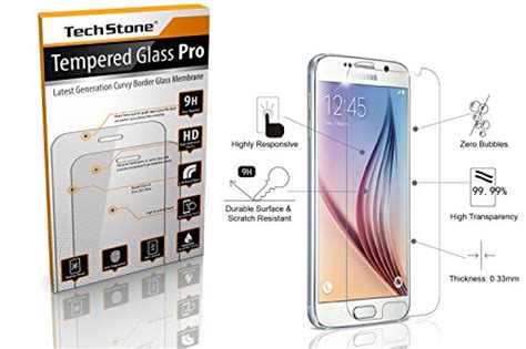 Tempered Glass 3d Samsung S6 Flat Anti Gores Kaca Curved Warna galaxy s6 screen protector glass tempered glass