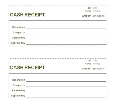 Template For Receipt When A Customer Wins Money by Receipt Sle Viqoo Club