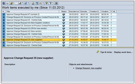 sap workflow status workflow configuration of master data governance for
