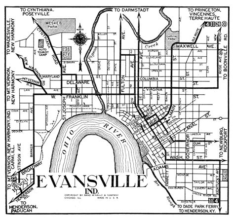map of evansville indiana map evansville indiana indiana map