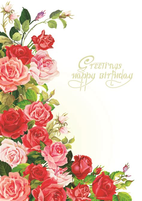 flower design greeting cards happy birthday flowers greeting cards 02 over millions