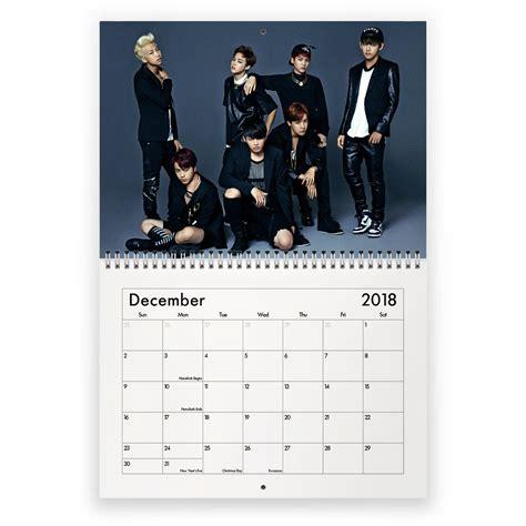 Bts Wall Calendar 2018 Limited Edition bts classic 2018 calendar