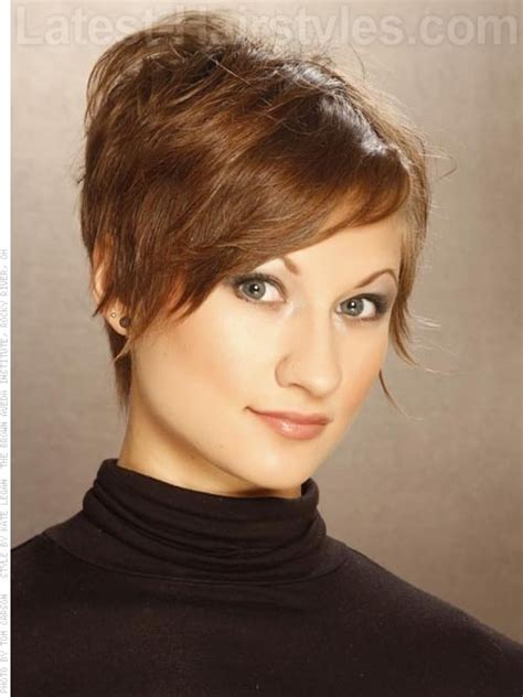 hairstyles front cut long layered pixie razored edge pixie haircut sculpted