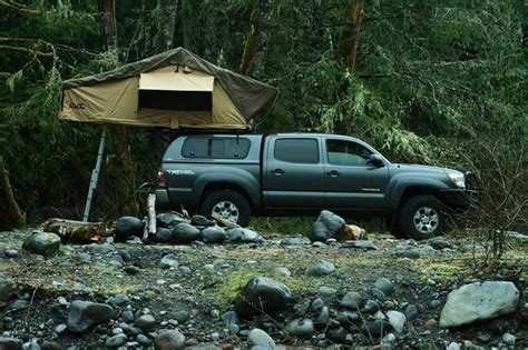 tacoma tent and awning 2013 tacoma cvt mt cayley roof top tent cascadia vehicle