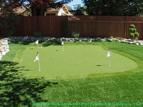 backyard putting green turf best artificial grass san antonio texas putting green