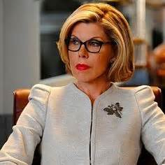 good wife hairstyle perfect hair for a woman of her age christine baranski