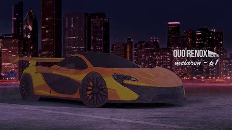 Customized Mclaren P1 by Fast Drawing Customized Car Mclaren P1