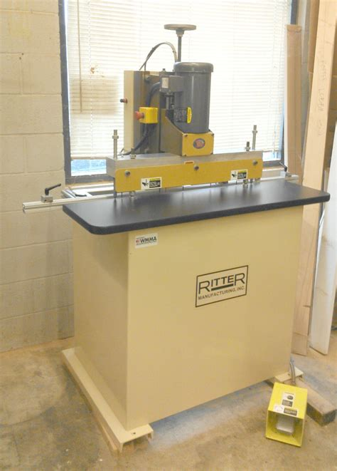 ritter woodworking used ritter r19f3 boring machine row line drill used