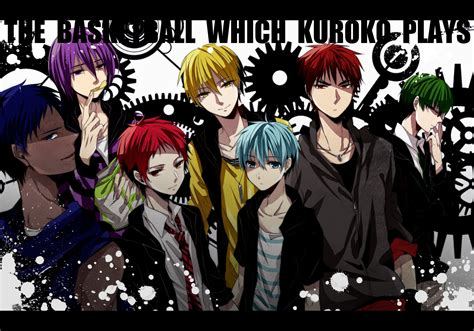 anime series kuroko no basket cool boys wallpaper