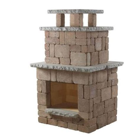 home depot fireplace paint kit necessories desert compact outdoor fireplace 4200039 the